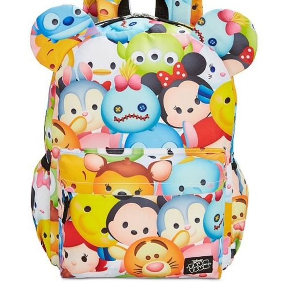 Groovy Nwt Tsum Tsum 3D Ears Backpack Frankydiablos Diy Chair Ideas Frankydiabloscom